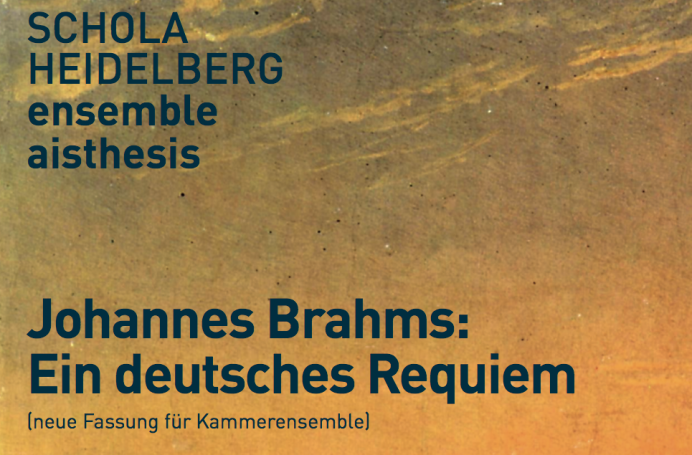 CD-Cover – Johannes Brahms – Ein deutsches Requiem